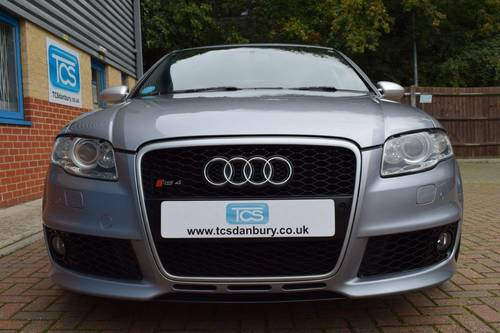 2007 Audi RS4 4.2i V8 420BHP Saloon 6-Speed Manual SOLD (picture 4 of 6)