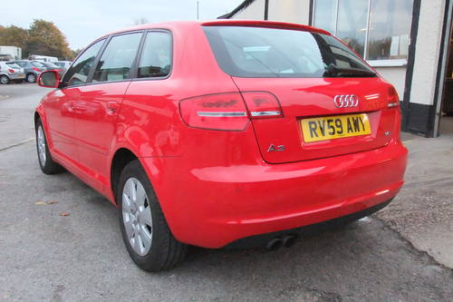 2009 AUDI A3 1.4 TFSI 5DR AUTOMATIC SOLD (picture 3 of 6)