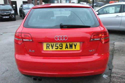2009 AUDI A3 1.4 TFSI 5DR AUTOMATIC SOLD (picture 5 of 6)
