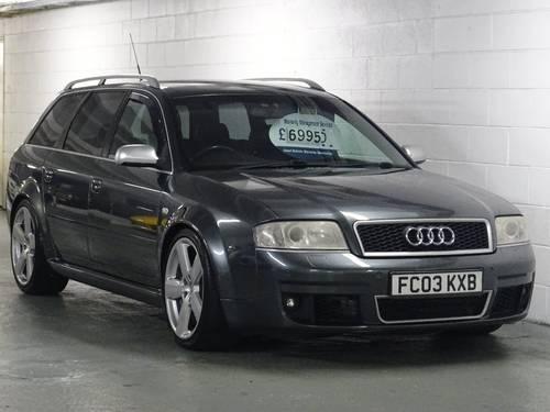 2003 Audi RS6 Avant 4.2 Quattro 5dr AVANT HUGE SPEC For Sale (picture 1 of 6)