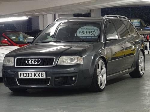 2003 Audi RS6 Avant 4.2 Quattro 5dr AVANT HUGE SPEC For Sale (picture 2 of 6)