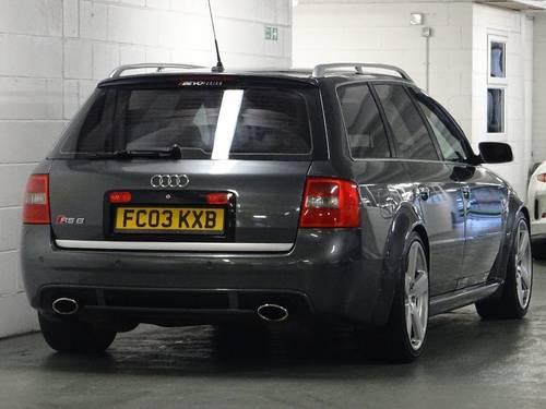 2003 Audi RS6 Avant 4.2 Quattro 5dr AVANT HUGE SPEC For Sale (picture 4 of 6)