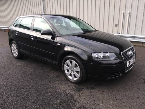 2006 56 AUDI A3 1.9 TDI SE103 BHP SPORT BACK SOLD (picture 1 of 6)