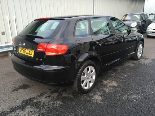 2006 56 AUDI A3 1.9 TDI SE103 BHP SPORT BACK SOLD (picture 3 of 6)