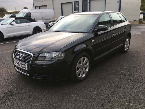 2006 56 AUDI A3 1.9 TDI SE103 BHP SPORT BACK SOLD (picture 5 of 6)