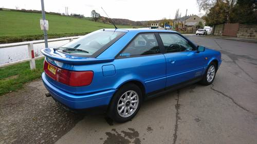 1995 Audi 80 Coupe Full MOT Half Leather, Sunroof For Sale (picture 4 of 6)