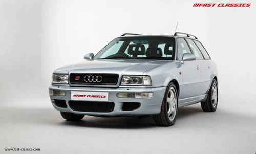 1995 Audi RS2 // Full Main Dealer history // 1 owner from new SOLD (picture 2 of 6)