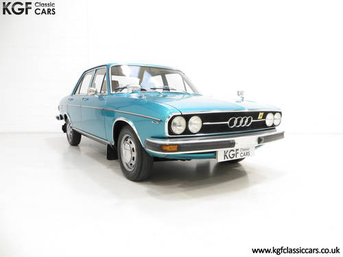 1976 A Rare C1 Audi 100GL with 17,142 Miles, Father and Son Owned SOLD (picture 1 of 6)