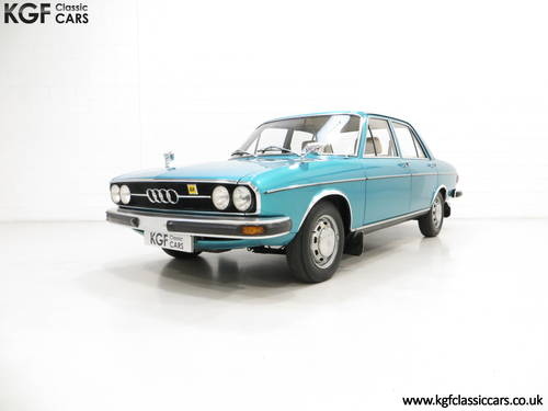 1976 A Rare C1 Audi 100GL with 17,142 Miles, Father and Son Owned SOLD (picture 2 of 6)