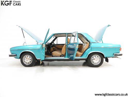 1976 A Rare C1 Audi 100GL with 17,142 Miles, Father and Son Owned SOLD (picture 3 of 6)