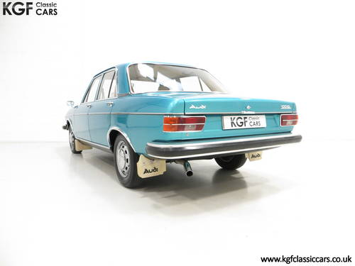 1976 A Rare C1 Audi 100GL with 17,142 Miles, Father and Son Owned SOLD (picture 4 of 6)