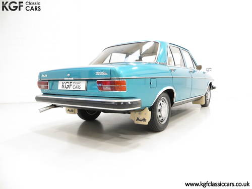 1976 A Rare C1 Audi 100GL with 17,142 Miles, Father and Son Owned SOLD (picture 5 of 6)