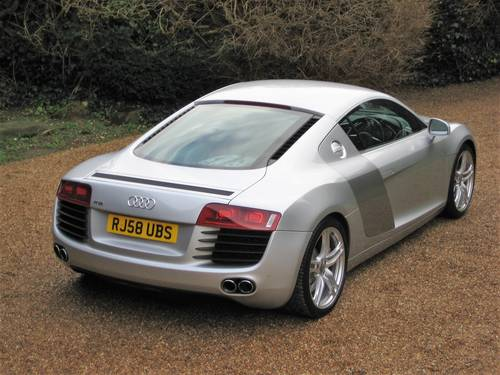 2008 Audi R8 Quattro With Only 30,000 Miles + R8 Luggage Set For Sale (picture 6 of 6)