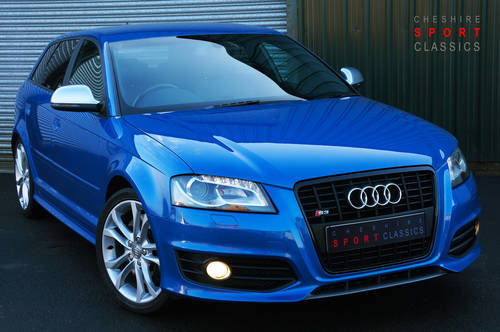 2009 Audi S3 Sportback 2.0 TFSi, 65k, Sprint Blue, High Spec, FSH SOLD (picture 1 of 6)
