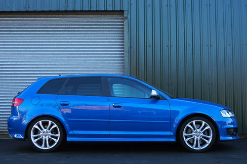 2009 Audi S3 Sportback 2.0 TFSi, 65k, Sprint Blue, High Spec, FSH SOLD (picture 2 of 6)