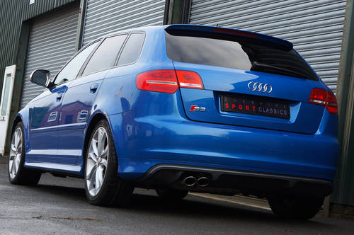 2009 Audi S3 Sportback 2.0 TFSi, 65k, Sprint Blue, High Spec, FSH SOLD (picture 3 of 6)