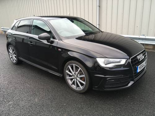 2014 AUDI A3 SPORTBACK 2.0 TDI S LINE 5D 148 BHP SOLD (picture 1 of 6)