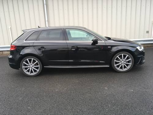 2014 AUDI A3 SPORTBACK 2.0 TDI S LINE 5D 148 BHP SOLD (picture 2 of 6)