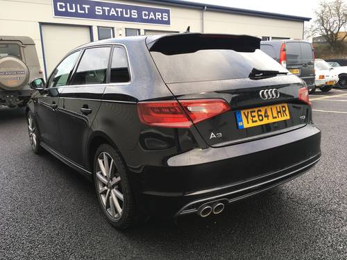 2014 AUDI A3 SPORTBACK 2.0 TDI S LINE 5D 148 BHP SOLD (picture 4 of 6)