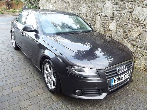 2008 08 AUDI A4 1.8T FSi 160PS SE 4 DOOR MANUAL SALOON SOLD (picture 1 of 6)