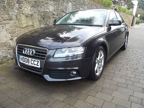 2008 08 AUDI A4 1.8T FSi 160PS SE 4 DOOR MANUAL SALOON SOLD (picture 2 of 6)