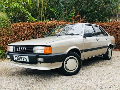 1984 AUDI 80 1.8 GL - 1 OWNER FROM NEW - 78K MILES  SOLD (picture 1 of 6)