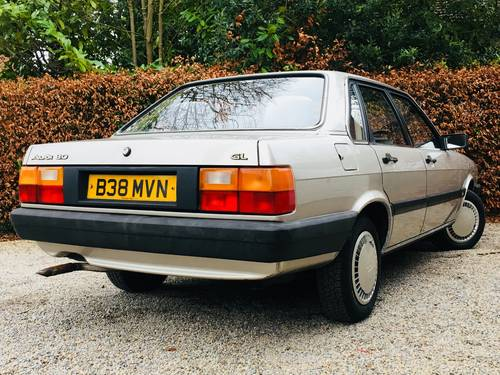 1984 AUDI 80 1.8 GL - 1 OWNER FROM NEW - 78K MILES  SOLD (picture 2 of 6)