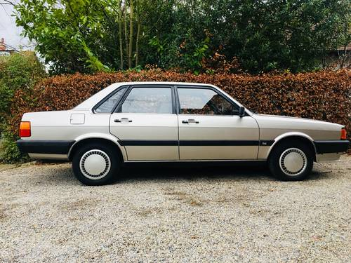 1984 AUDI 80 1.8 GL - 1 OWNER FROM NEW - 78K MILES  SOLD (picture 3 of 6)