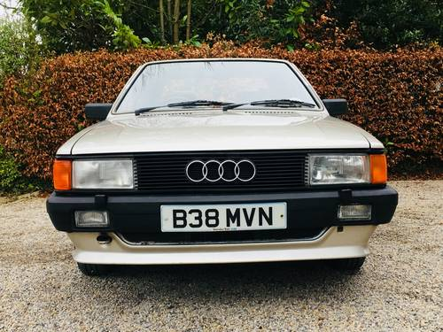 1984 AUDI 80 1.8 GL - 1 OWNER FROM NEW - 78K MILES  SOLD (picture 4 of 6)