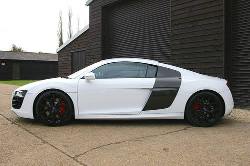 2009 09/59 Audi R8 5.2 V10 R-Tronic Quattro Coupe (29,463 miles) SOLD (picture 1 of 6)