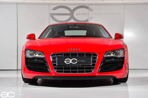 2010 Audi R8 V10 in Red - Manual Transmission - 24K Miles SOLD (picture 1 of 6)