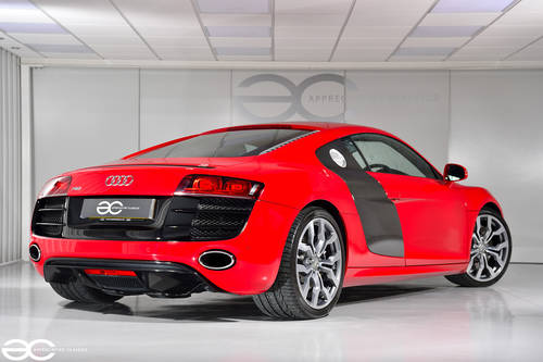 2010 Audi R8 V10 in Red - Manual Transmission - 24K Miles SOLD (picture 3 of 6)