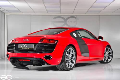 2010 Audi R8 V10 in Red - Manual Transmission - 24K Miles SOLD (picture 3 of 6)