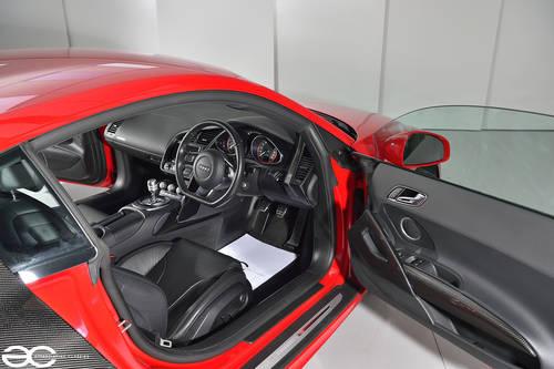 2010 Audi R8 V10 in Red - Manual Transmission - 24K Miles SOLD (picture 4 of 6)
