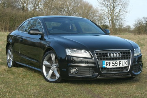 2010 Audi A5 20 Tdi S Line Special Edition Coupe Sold Car And Classic