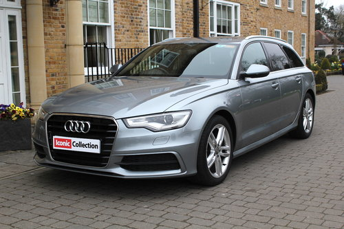 2013 Audi A6 Avant 2.0TDI ( 177ps ) Multitronic S Line For Sale (picture 1 of 6)