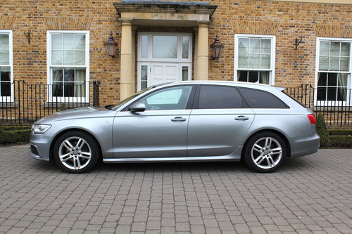 2013 Audi A6 Avant 2.0TDI ( 177ps ) Multitronic S Line For Sale (picture 2 of 6)