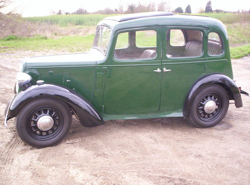 1937 ` AUSTIN BIG 7 HAS HAD A BODY OF RESTORATION SOLD (picture 1 of 6)