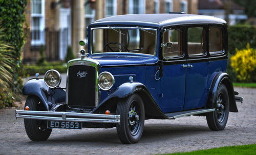 1934 Austin 20hp  (20/6) Ranelagh For Sale (picture 1 of 6)