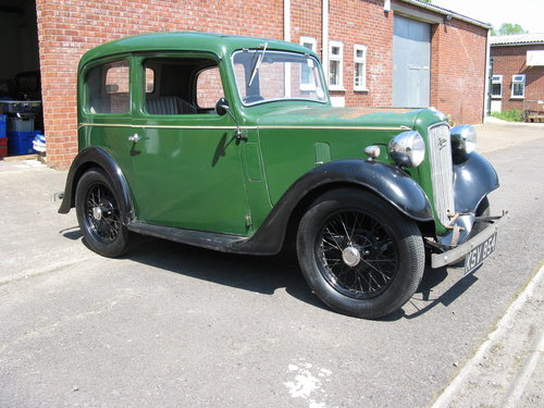 1938 Austin 7 Ruby Mk2 SOLD (picture 1 of 6)