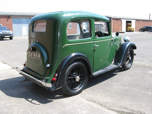 1938 Austin 7 Ruby Mk2 SOLD (picture 2 of 6)