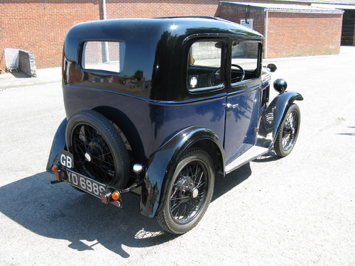 1933 Austin 7 RP Box Saloon SOLD (picture 2 of 6)