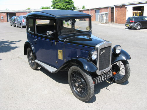 1933 Austin 7 RP Box Saloon SOLD (picture 3 of 6)