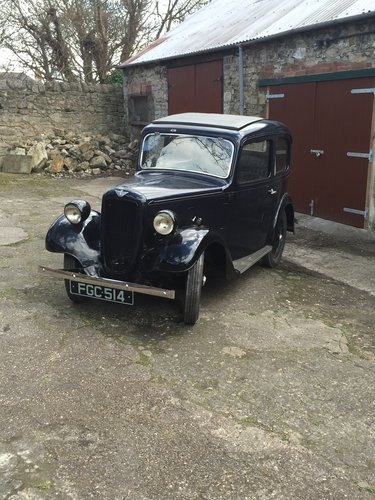 1938 Austin Seven Ruby Mk2 For Sale (picture 1 of 6)