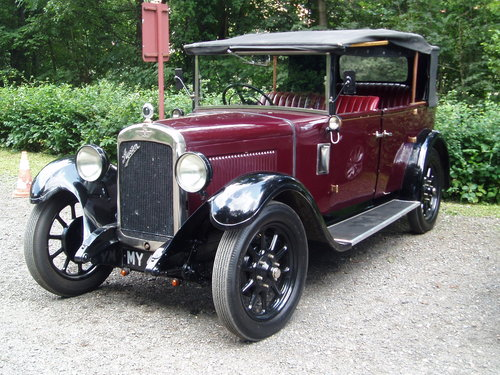 1930 Austin 12/4 Heavy Tourer For Sale (picture 1 of 6)
