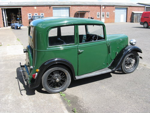 1936 Austin 7 Ruby Mk1 SOLD (picture 2 of 6)