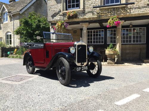 1931 Austin 7 Boat Tail - Full Restored For Sale (picture 1 of 6)