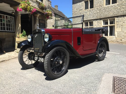 1931 Austin 7 Boat Tail - Full Restored For Sale (picture 2 of 6)