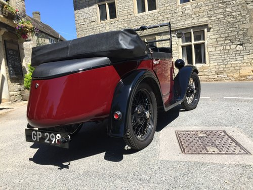 1931 Austin 7 Boat Tail - Full Restored For Sale (picture 3 of 6)
