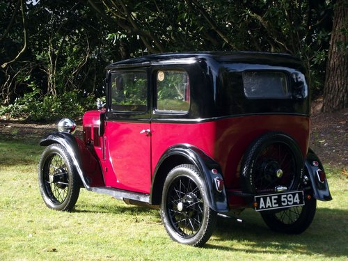 1933 AUSTIN SEVEN SLOON  SOLD (picture 6 of 6)